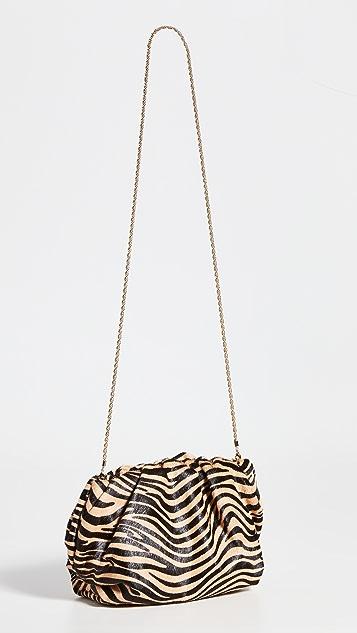 Loeffler Randall Mini Oversized Gathered Clutch