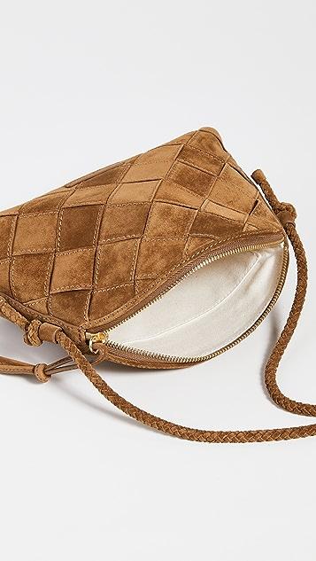 Loeffler Randall Wide Woven Crossbody Bag