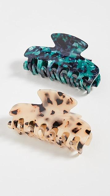 Loeffler Randall Hair Claw Clip Set