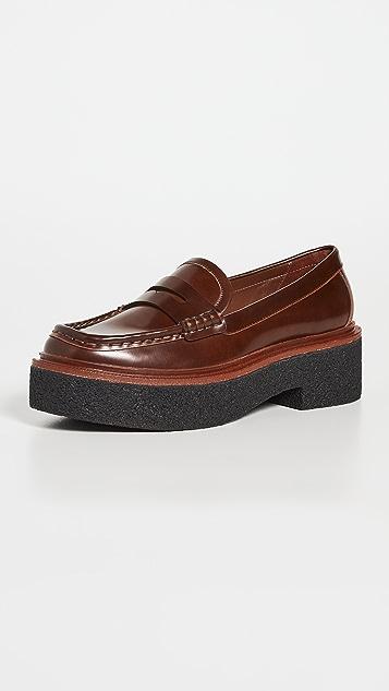 Loeffler Randall Platform Loafers