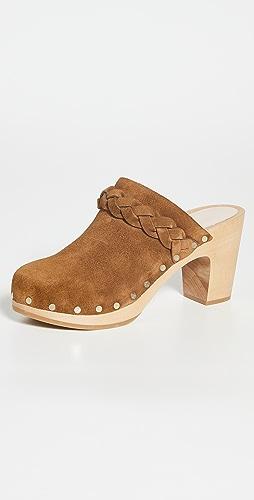 Loeffler Randall - High Heel Clogs With Braid
