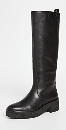 Loeffler Randall - Tall Shaft Boots with Crepe Sole