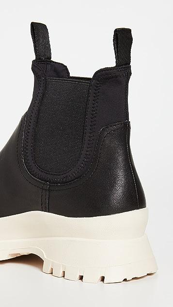 Loeffler Randall Rubber Platform Chelsea Boots