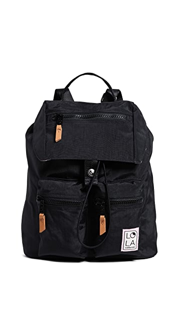 LOLA Phantasm Large Drawstring Backpack