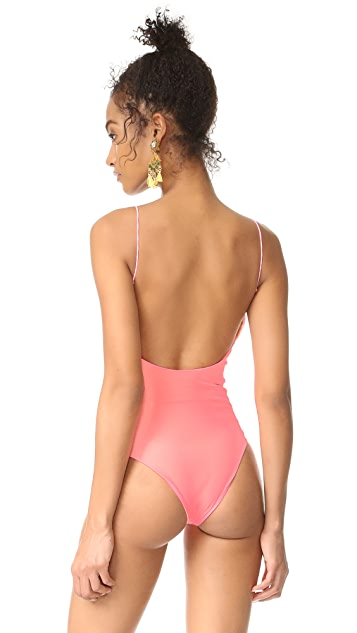Lolli Barbie Scoop Neck One Piece