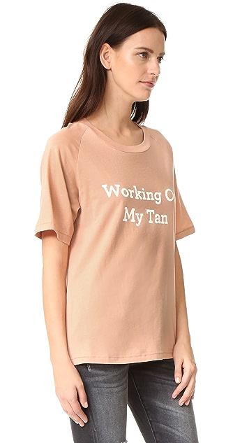 Lolli Working On My Tan Tee