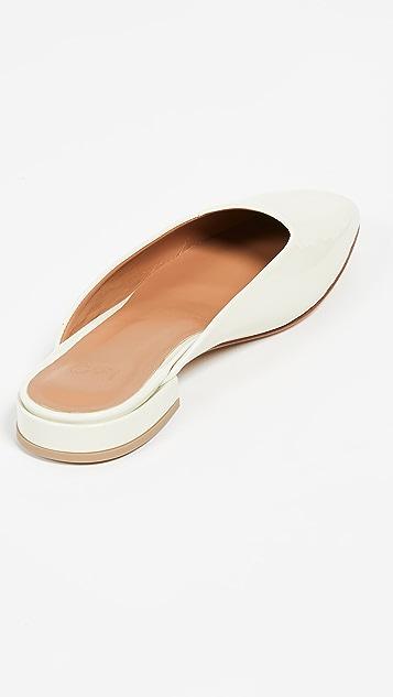 LOQ Туфли без задников Lucia на плоской подошве