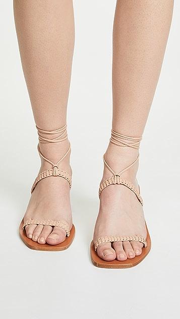 LOQ Leona 系带凉鞋