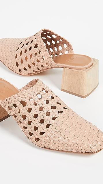 LOQ Туфли-лодочки из ткани Ines