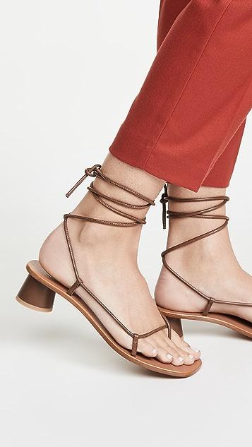 LOQ Olea 绑带式凉鞋