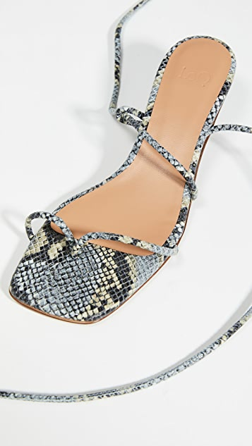 LOQ Roma Lace Up Sandals