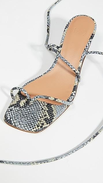 LOQ Roma 系带凉鞋