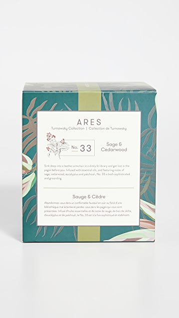 L'or de Seraphine Large Ares Candle