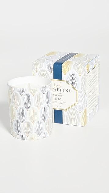 L'or de Seraphine Large Aurelie Candle