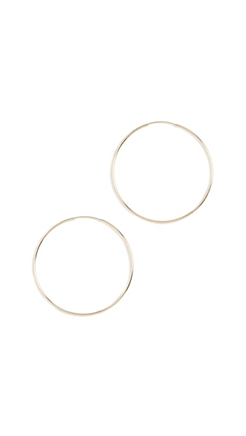 Loren Stewart 14k Nakita Hoop Earrings