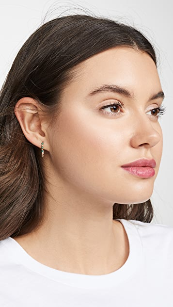 Loren Stewart 14k Friendship Safety Pin Earring