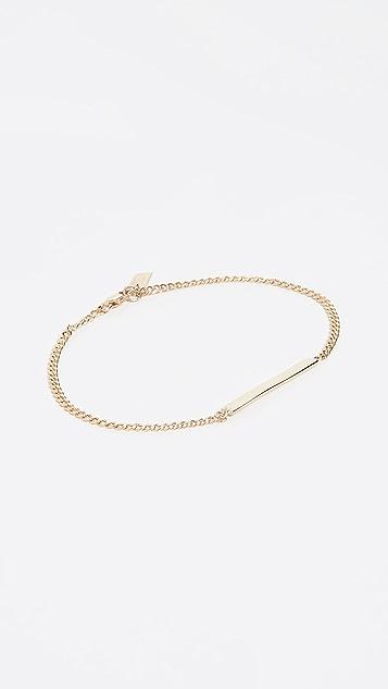 Loren Stewart 14k ID Chain Bracelet