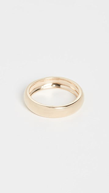 Loren Stewart 14k Eternity Dome Band