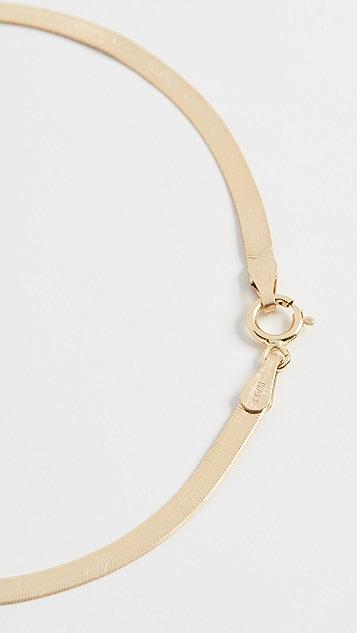 Loren Stewart Herringbone 10k Bracelet