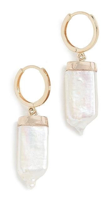 Loren Stewart 14k Pearl Paleta Earrings