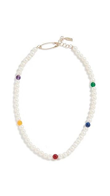 Loren Stewart 14k Polychrome Necklace