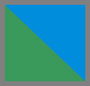 Green Onyx/Blue Agate