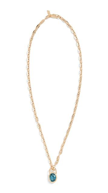Loren Stewart Portal Lock Necklace
