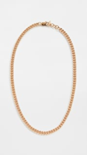 Loren Stewart Petite Industrial Curb Chain Necklace