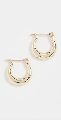 Loren Stewart - Mini Pirate Hoop Earrings