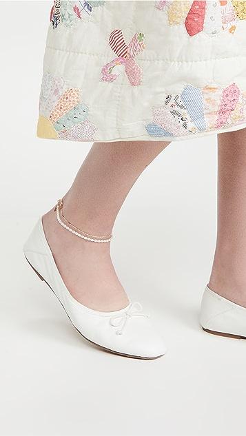 Loren Stewart Rice Pearl Anklet
