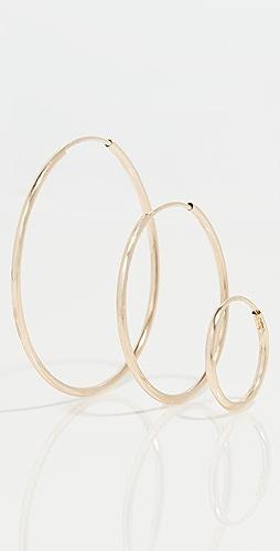 Loren Stewart - Infinity 圈式耳环套装