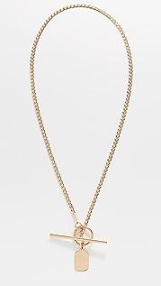Loren Stewart Octagonal Toggle Necklace