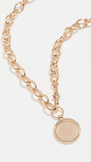 Loren Stewart Medallion Melt Necklace