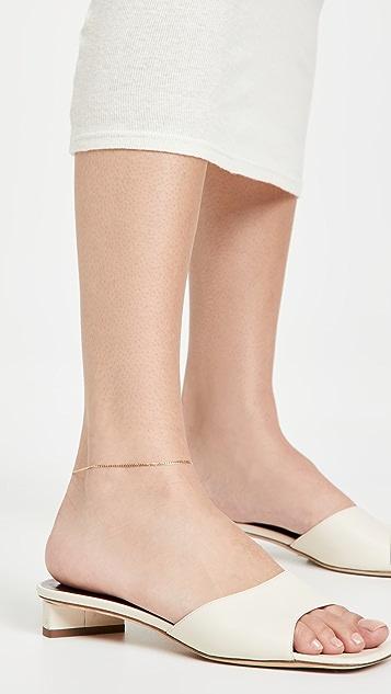 Loren Stewart Dazzle Chain Anklet