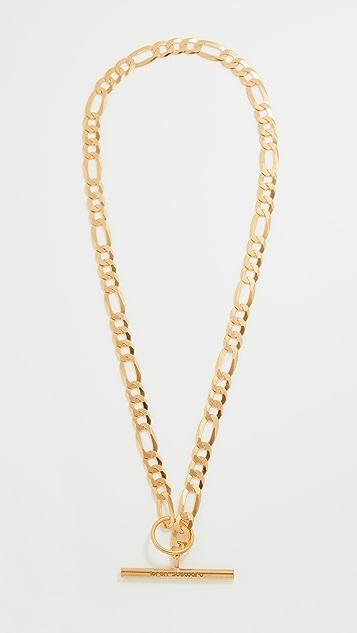 Loren Stewart Toggle Figaro Necklace