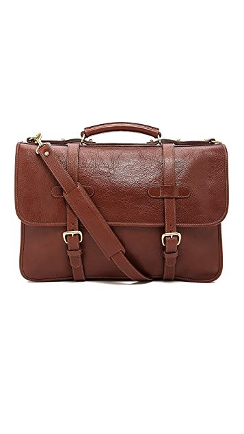 Lotuff Leather Bound-Edge English Briefcase