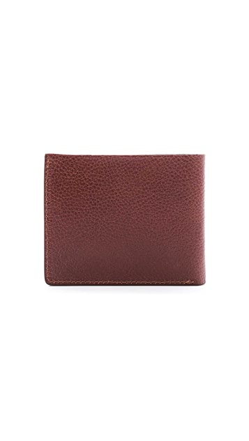 Lotuff Leather Bi-Fold Wallet