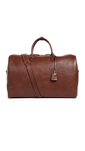 Lotuff Leather No.12 Leather Weekender Bag