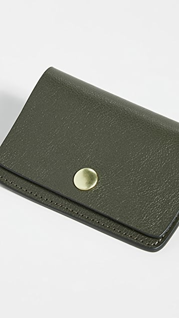 Lotuff Leather Leather Snap Wallet