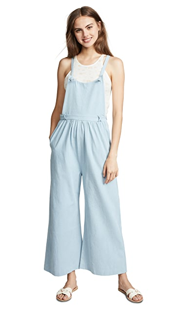 Loup Kate Knot Overalls