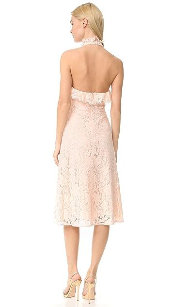 Lover Affinity Ruffle Halter Dress