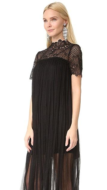 Lover Camelia Silk Maxi Dress