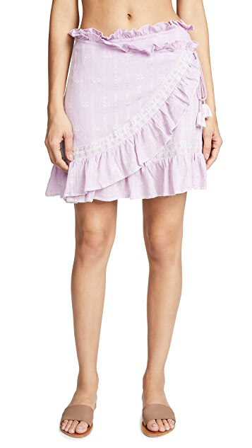 Love Sam Midsummer Moments Wrap Skirt