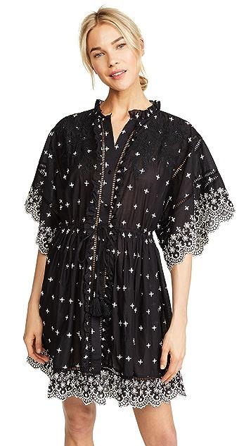 Love Sam Elderflower English Kimono Dress