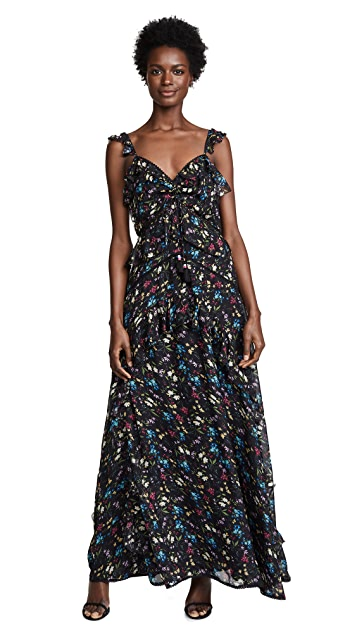 Love Sam Blossom Printed Maxi Dress