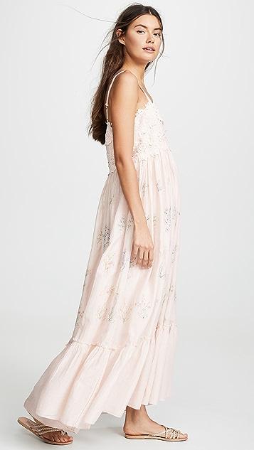 Love Sam Daisy Embroidered Dress