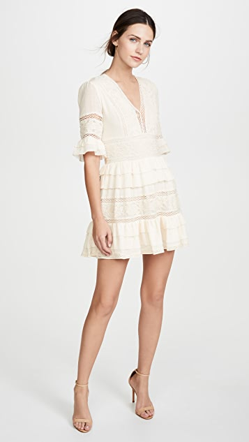 Love Sam Chateau Embellished Mini Dress