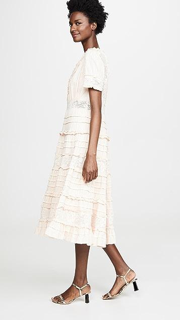 Love Sam Babette Midi Dress