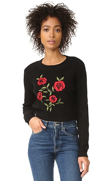 Lovers + Friends Rose Sweater