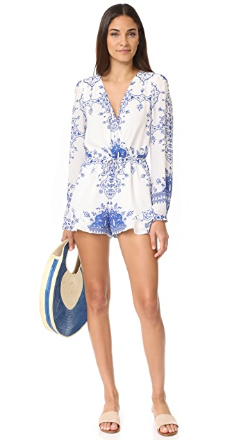 Lovers + Friends Spring Blossom Romper